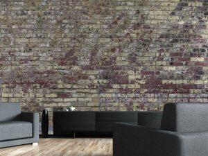 Vintage Brick Wall 15' x 8' (4,57m x 2,44m)