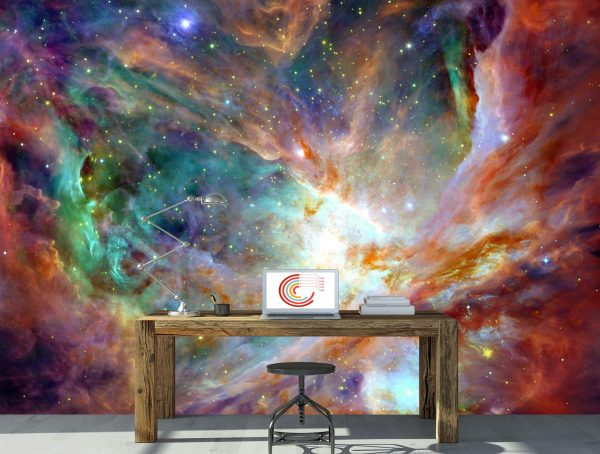 Colors of Space 10.5' x 8' (3,20m x 2,44m)