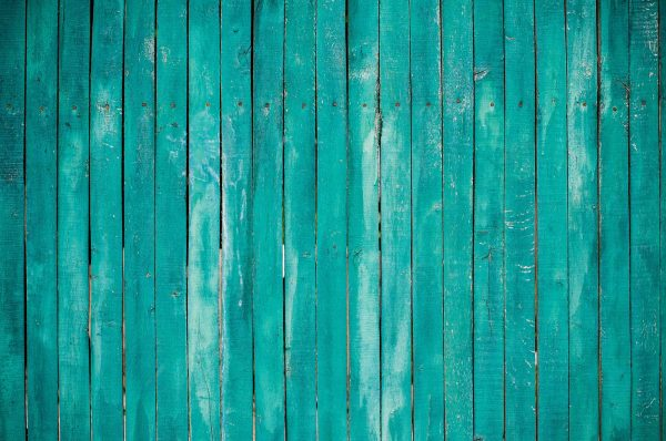 Turquoise Rustic Wood Planks 12' x 8' (3,66m x 2,44m)