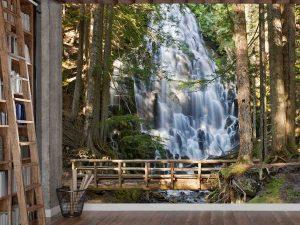 Ramona Falls, Portland, Oregon 9' x 8' (2,75m x 2,44m)