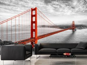 Golden Gate Bridge in San Francisco 12' x 8' (3,66m x 2,44m)