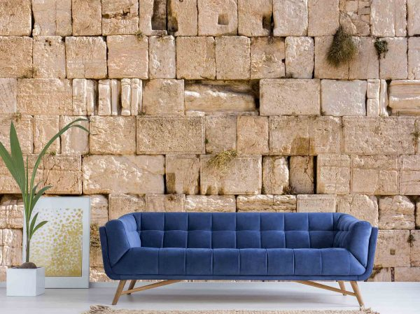 Western Wall, Wailing Wall, Kotel, Jerusalem 12' x 8' (3,66m x 2,44m)