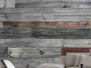 Multicolor Wood Planks 6' x 9' (1,83m x 2,75m)