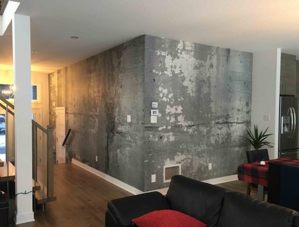 Concrete Wall Art 12' x 8' (3,66m x 2,44m)