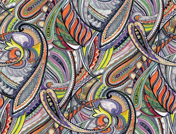 Paisley Pattern 10.5' x 8' (3,20m x 2,44m)