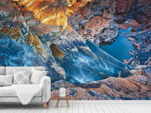 Hamersley Waterfalls, Australia 12' x 8' (3,66m x 2,44m)