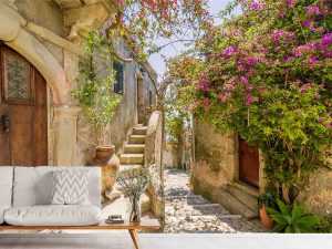 Comune of Lipari, Sicilia, Italy 10.5' x 7' (3,20m x 2,13m)