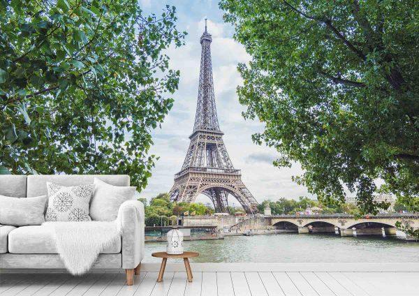 Eiffel Tower 12' x 8' (3,66m x 2,44m)