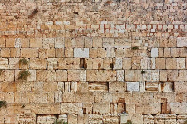 Western Wall, Jerusalem (Large) 18' x 12' (5,50m x 3,66m)