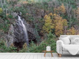 Trout River Falls in Newfoundland 18' x 8' (5,50m x 2,44m)