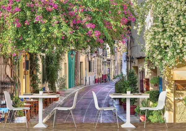 Alley in Athens, near the Acropolis 12' x 8' (3,66m x 2,44m)