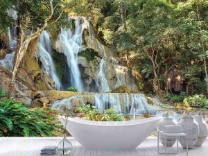 Kuang Si Waterfalls, Laos 12' x 8' (3,66m x 2,44m)