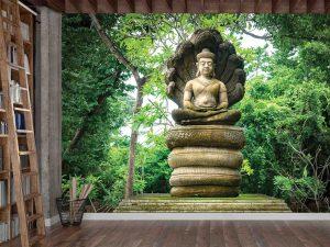 Thai Buddha 10.5' x 8' (3,20m x 2,44m)