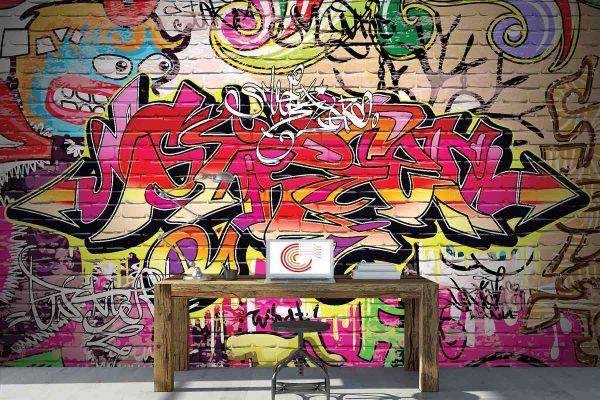 Urban Art 12' x 8' (3,66m x 2,44m)