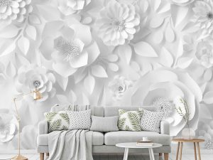 Paper Flowers 9' x 9' (2,75m x 2,75m)