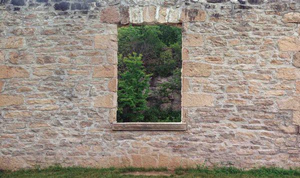 Garden Wall 13.5' x 8' (4,11m x 2,44m)