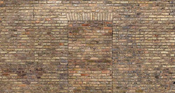 Brick Door 15' x 8' (4,57m x 2,44m)