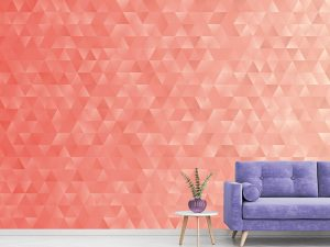 Coral Geometric Triangles 12' x 8' (3,66m x 2,44m)