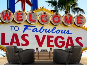 Welcome to Las Vegas 12' x 8' (3,66m x 2,44m)