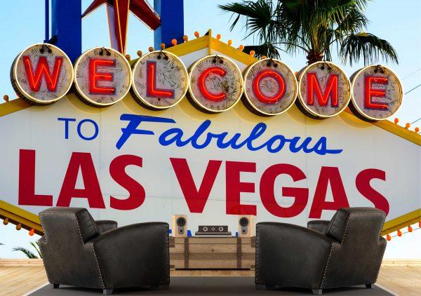 Welcome to Las Vegas 12' x 8' (3,66m x 2,44m)