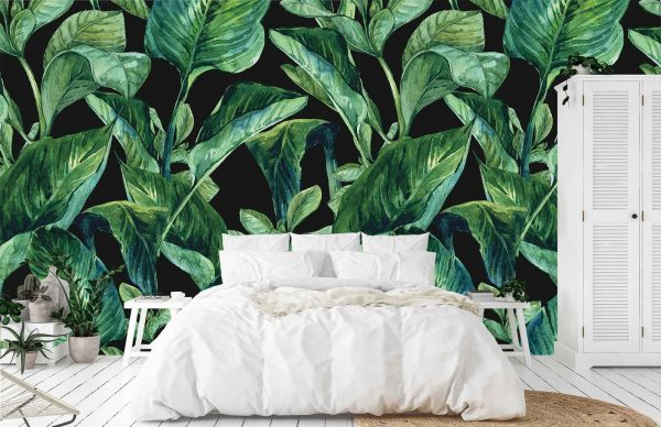 Tropical Leaves 9' x 9' (2,75m x 2,75m)