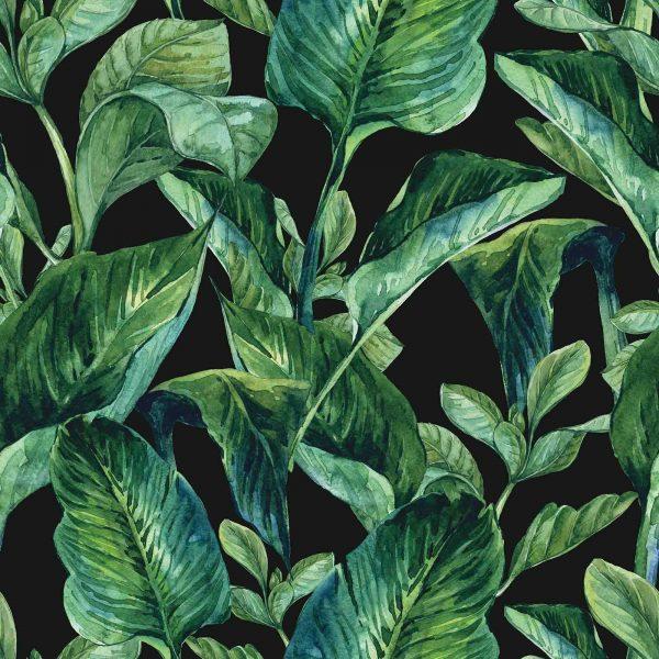 Tropical Leaves 9' x 9' (2,75m x 2,75m)