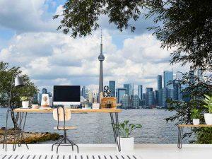 Toronto Skyline from Toronto Island 12' x 8' (3,66m x 2,44m)