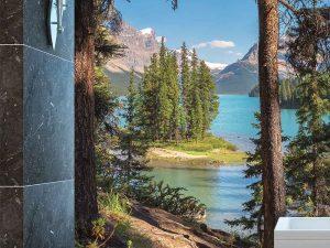 Jasper National Park, Alberta 6' x 9' (1,83m x 2,75m)