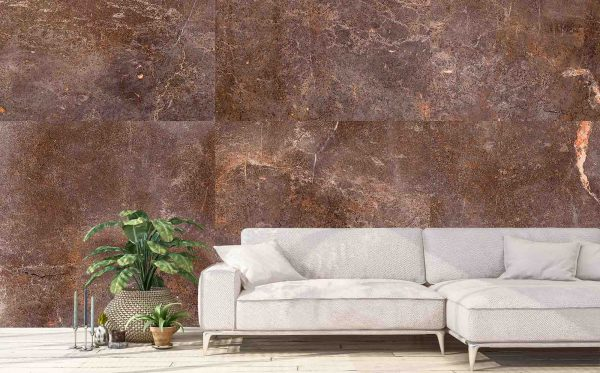 Brown Marble 12' x 8' (3,66m x 2,44m)
