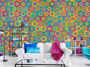 Colored Circles 12' x 8' (3,66m x 2,44m)