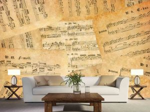 Music Sheets 12' x 8' (3,66m x 2,44m)