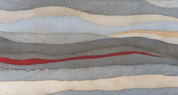 Concrete Layers (Red) 15' x 8' (4,57m x 2,44m)