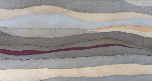 Concrete Layers (Purple) 15' x 8' (4,57m x 2,44m)