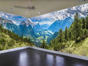 Austrian Alps near Innsbruck 40.5' (12,34m) x 8' (2,44m)