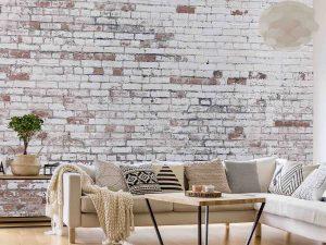 Good Old Brick Wall 15' x 9' (4,57m x 2,75m)