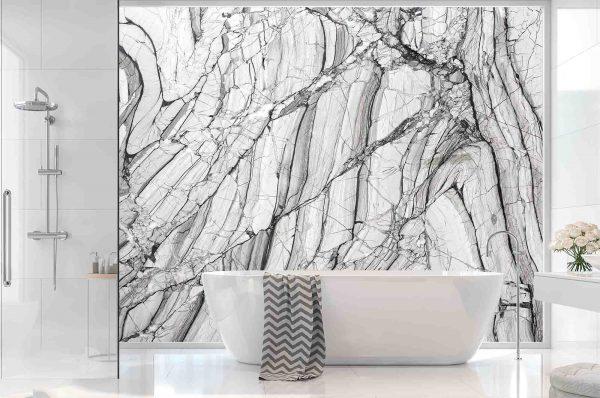 Grey Marble 12' x 8' (3,66m x 2,44m)