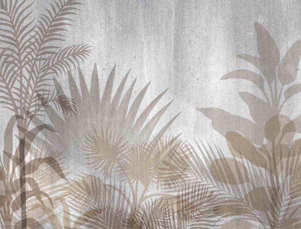 Monochromatic Tropical Foliage 10.5' x 8' (3,20m x 2,44m)