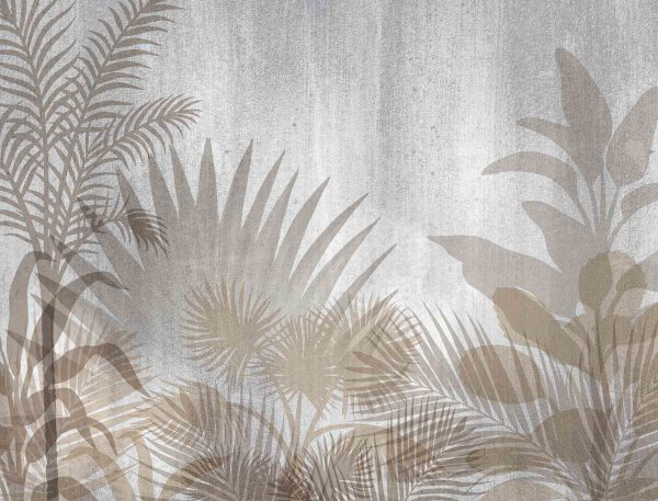 Monochromatic Tropical Foliage 10.5' x 8' (3,20m x 2,44m)