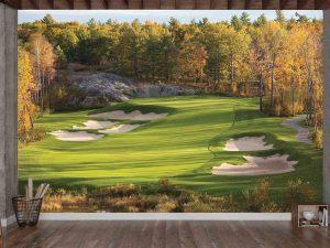 Golf in the Fall 12' x 8' (3,66m x 2,44m)