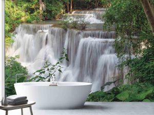 Huai May Khamin Waterfalls, Thailand 12' x 8' (3,66m x 2,44m)