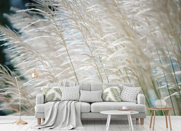 White Reeds in the Wind 12' x 8' (3,66m x 2,44m)