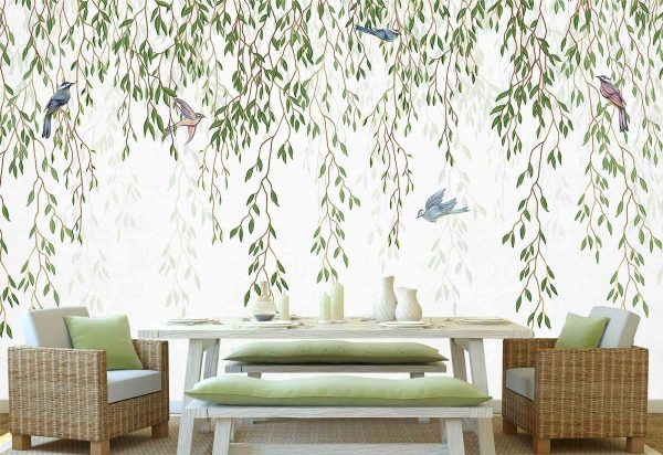 Willow Tree Branches 12' x 8' (3,66m x 2,44m)