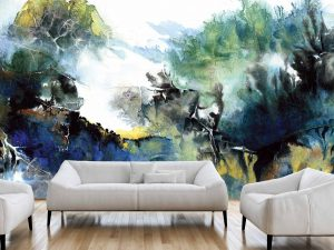 Fogged Untamed World 15' x 8' (4,57m x 2,44m)