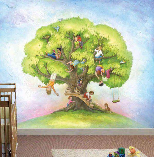 Children's Tree 9' x 8' (2,75m x 2,44m)
