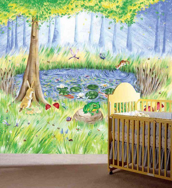 Secret Garden 9' x 8' (2,75m x 2,44m)