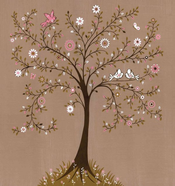 Tree of Life (brown) 7.5' x 8' (2,29m x 2,44m)