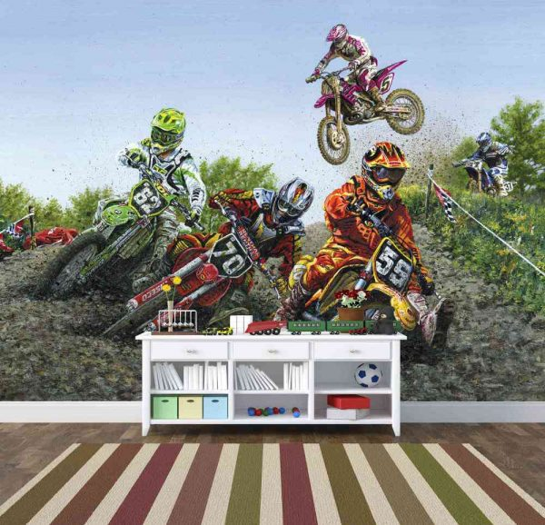 Motocross Extreme Sport 10.5' x 8' (3,20m x 2,44m)