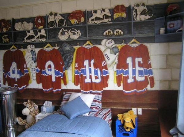 Locker Room 10.5' x 8' (3,20m x 2,44m)