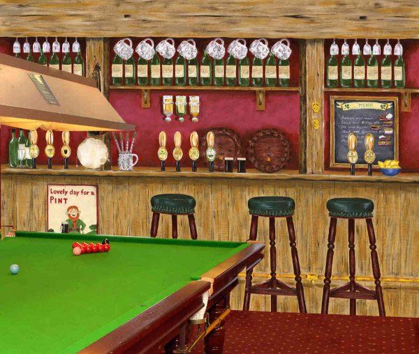 Irish Pub 10.5' x 8' (3,20m x 2,44m)