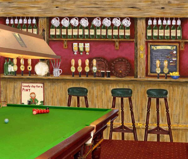 Irish Pub 10.5' x 8' (3,20m x 2,44m)